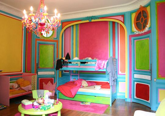 Id e chambre color e pour enfant tr s jolies couleurs gloewen et scrat chambre d 39 enfants en - Chambre enfant coloree ...