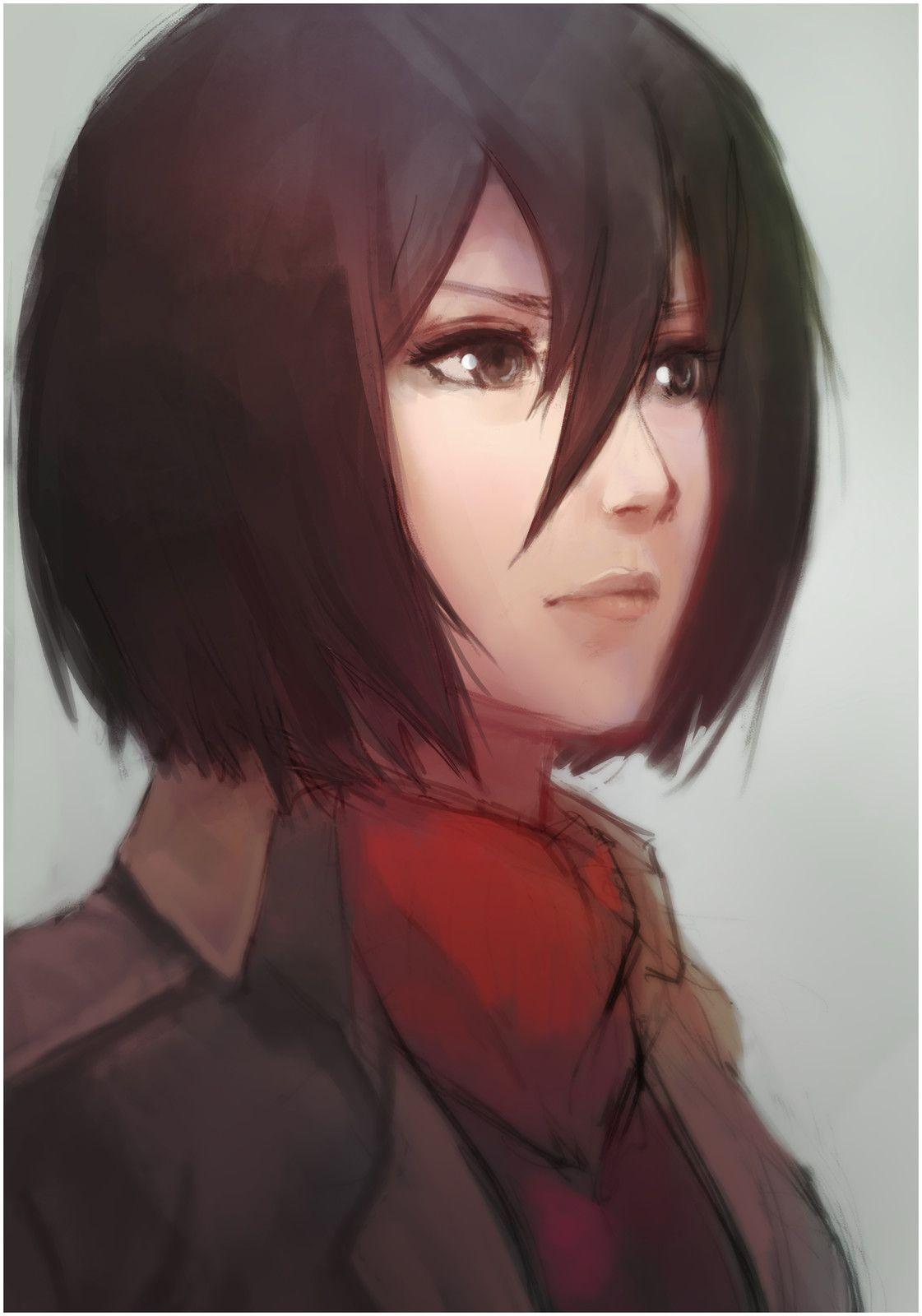 Pin by It's_Yã_bØY_DeMŌn( ᴗ ) on Mikasa (AOT)(´ω