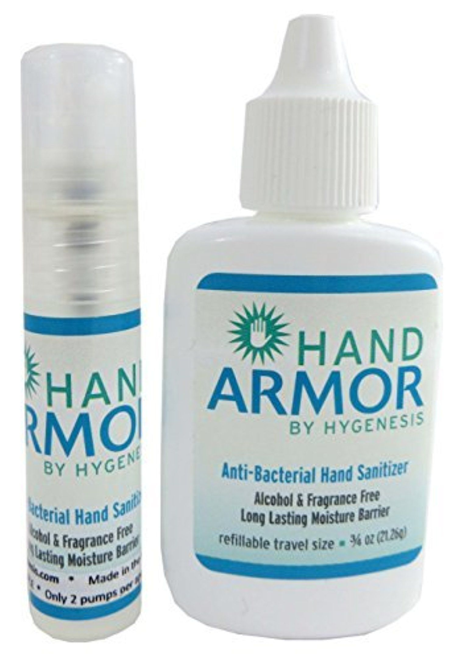Hygenesis Hand Armor Anti Bacterial Hand Sanitizer Pocket Size