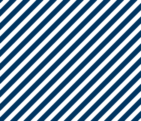 Colorful Fabrics Digitally Printed By Spoonflower Stripes Fabric Diagonal Stripes Navy Blue And White Stripe Fabrics Striped Fabrics Diagonal Stripes Fabric