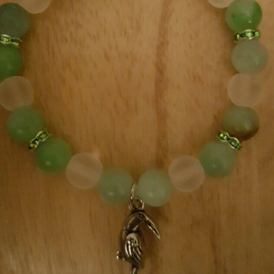 Toucan Inspired Bracelet