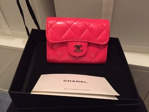 39389938f056 Chanel classic flap card case wear and tear and review - YouTube ...