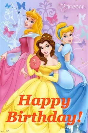 Disney Princesses Happy Birthday Tolle Spruche Geburtstag
