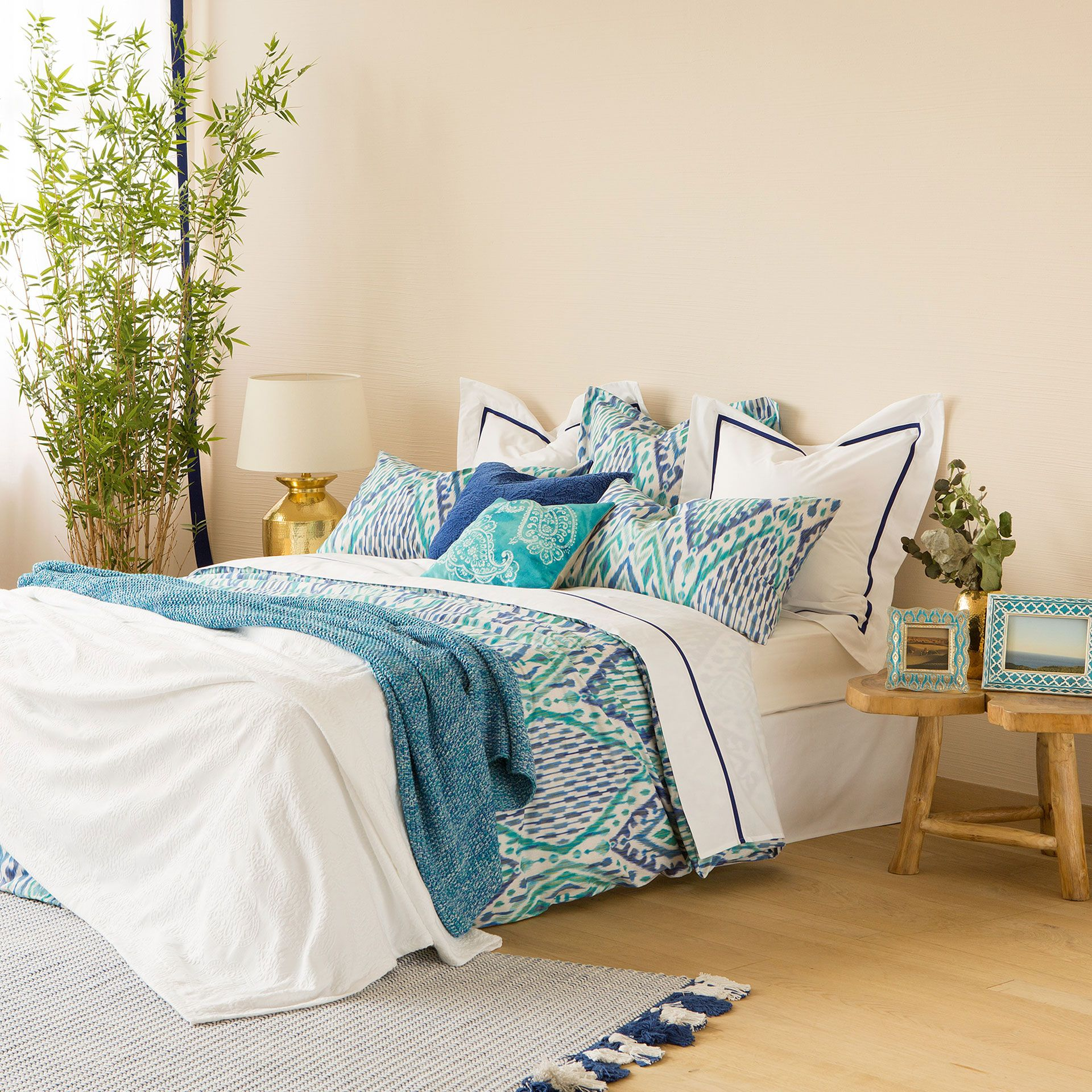 Ikat Print Bed Linen - New Collection