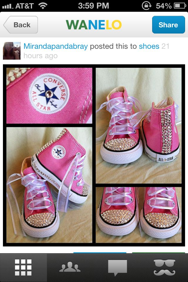 I m going to make these for Gabby! Converse 085d75ee4bc5