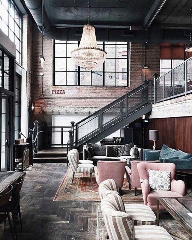 Teal Blush Gray Living Room Loft Loft Design Loft Style