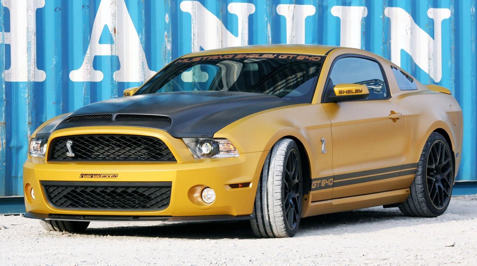 Ford mustang shelby gt 640 golden snake by geigerford