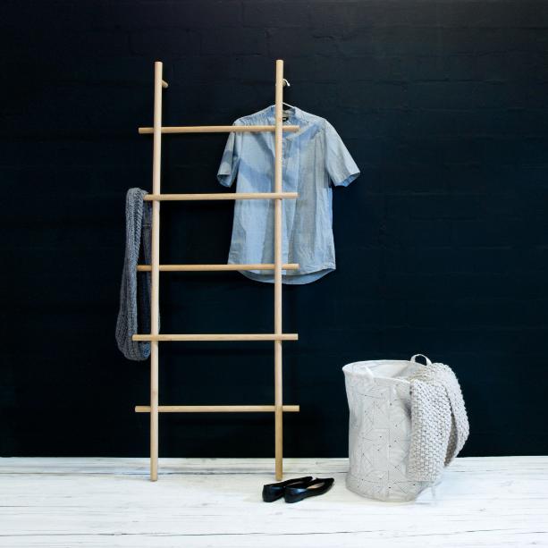 LOADAH Garderoben Leiter Handtuchhalter