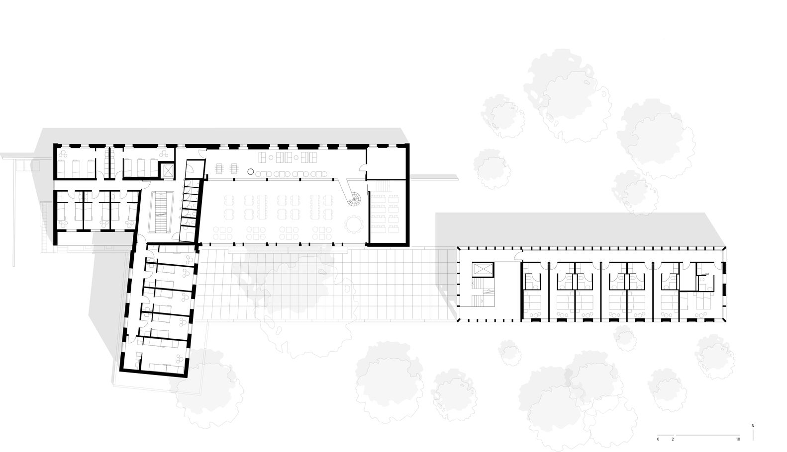 Gallery of Youth Hostel Bern / Aebi & Vincent Architects