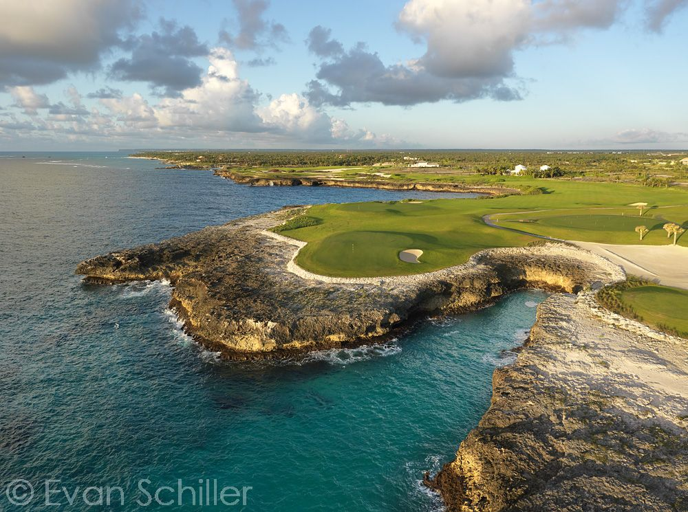 9th hole, Corales at PUNTACANA Resort & Club. Once again