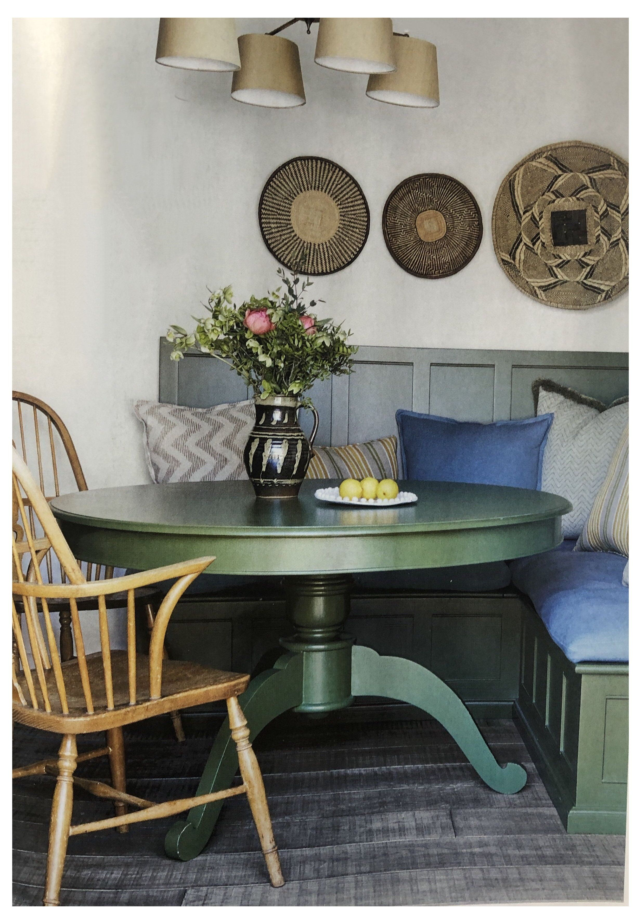 small round dining table diy