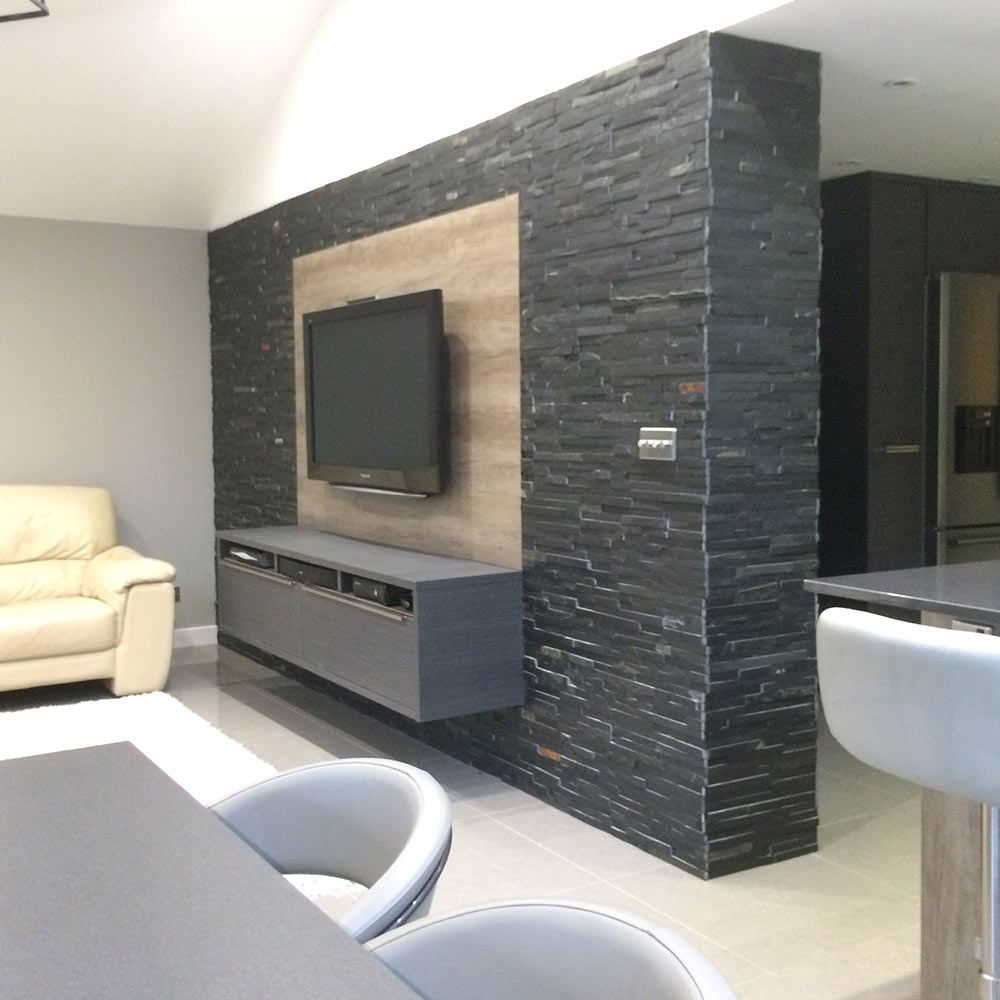 Delightful Living Room Tv Wall Tiles Feature Wall Living Room