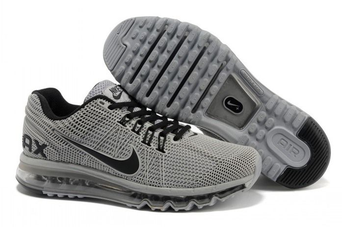 New Air Max 2013 Running Shoes For Men Grey