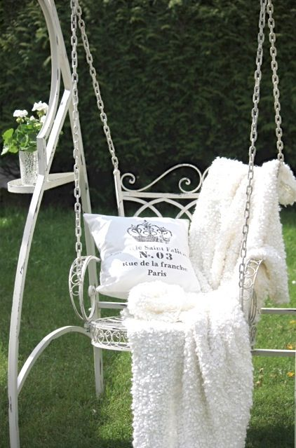 A cute little swing..