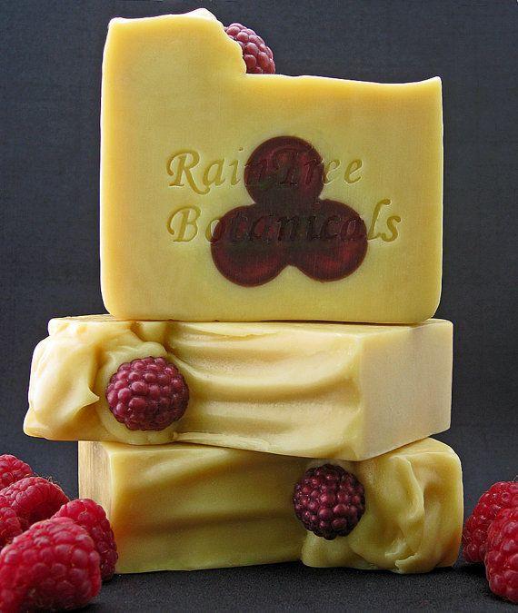 Soap raspberries...people are so creative.
