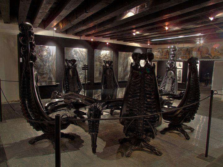 HR Giger Museum Pics By C Mathias Belz Ban Sidhe