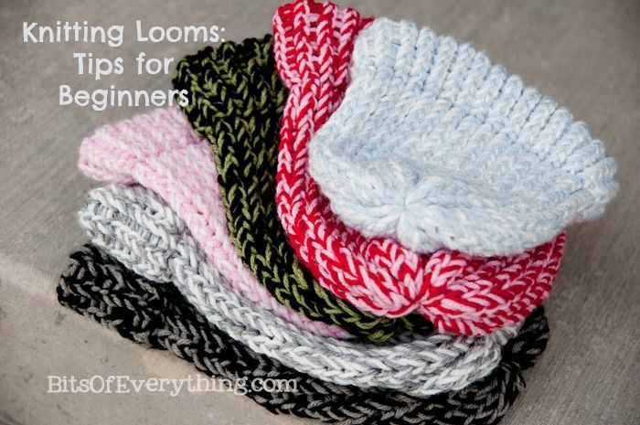 Knitting With A Loom For Beginners : Knitting loom hats tips for beginners