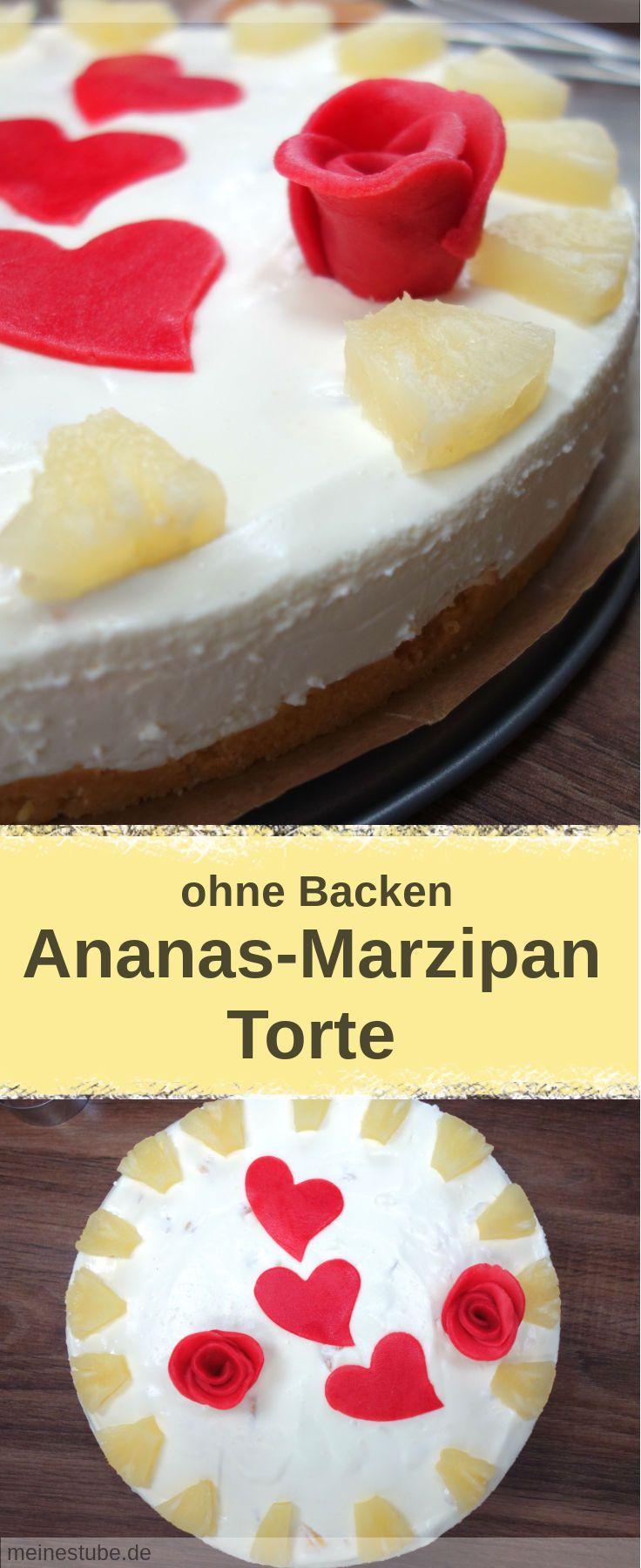 Leckere ananas torte