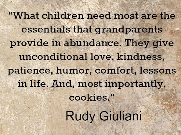 Grandparent Quotes – National Grandparents Day | Being a ...