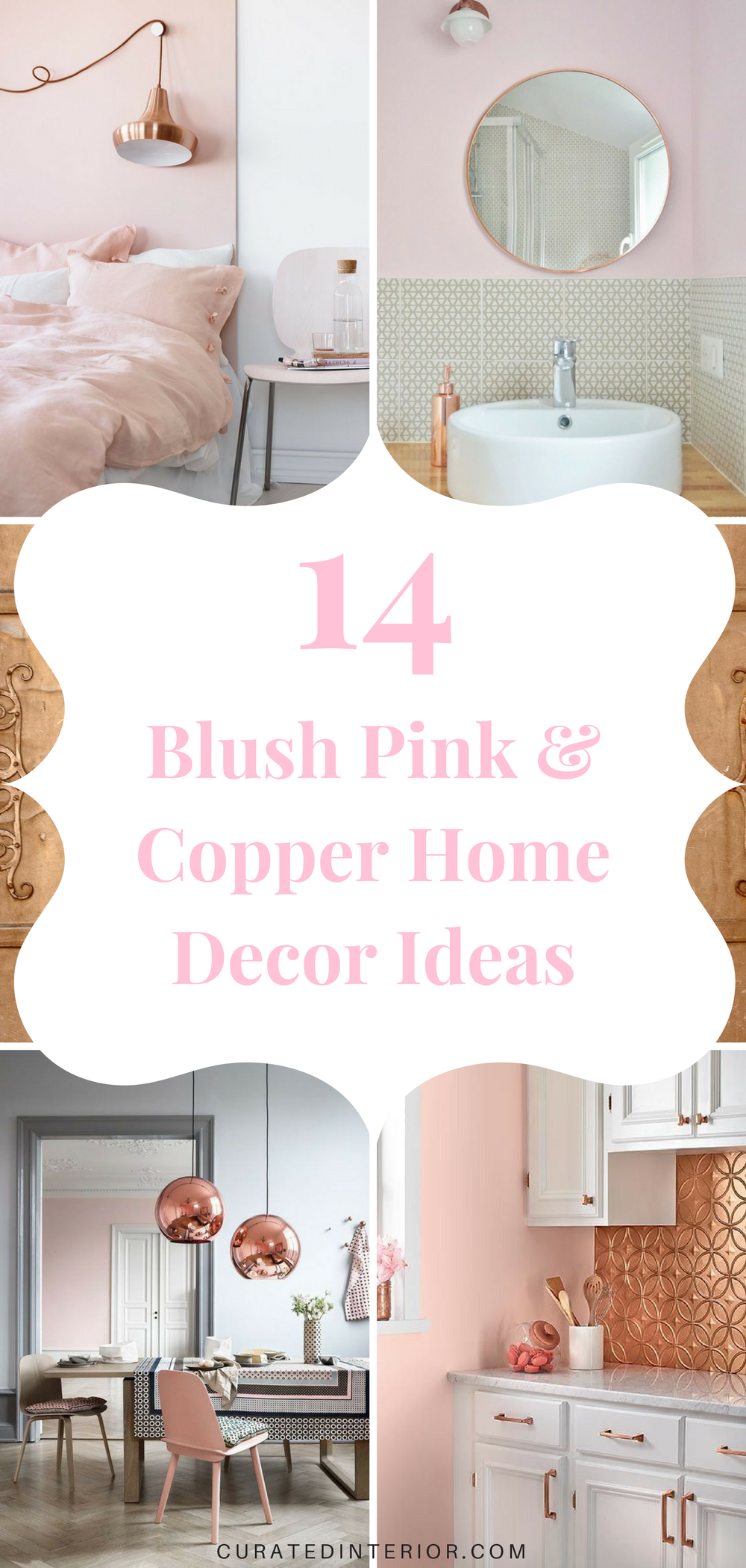 14 Eye Catching Blush Pink Copper Home Decor Ideas Pink Home Decor Home Decor Home Decor Accessories