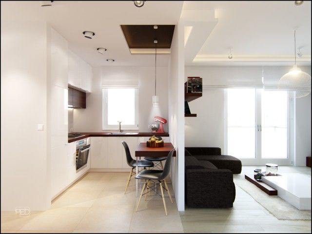 Projekt Oraz Wizualizacja Mieszkania O Powierzchni 40m2
