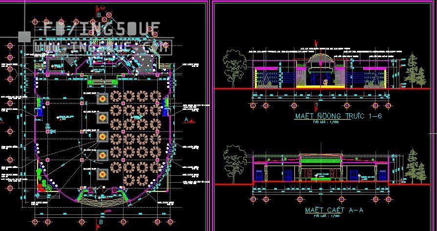 مخططات معمارية مطعم بتصميم مميز اوتوكاد Dwg مخططات معمارية مطعم بتصميم مميز اوتوكاد Dwg مخططات معمارية مطع Autocad How To Plan Music Instruments