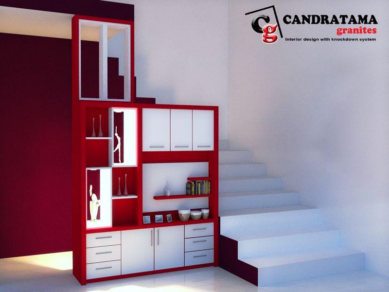 lemari bawah tangga modern   Desain produk, Interior ...