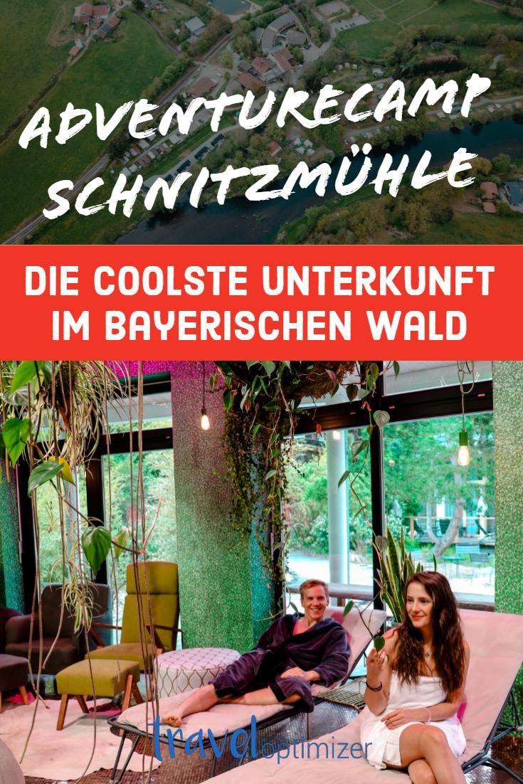 Adventure Camp Schnitzmuhle Viechtach Hutten Im Bayerischen Wald Geheimtipp Urlaub Wellness Bayerischer Wald Wellness Bayern
