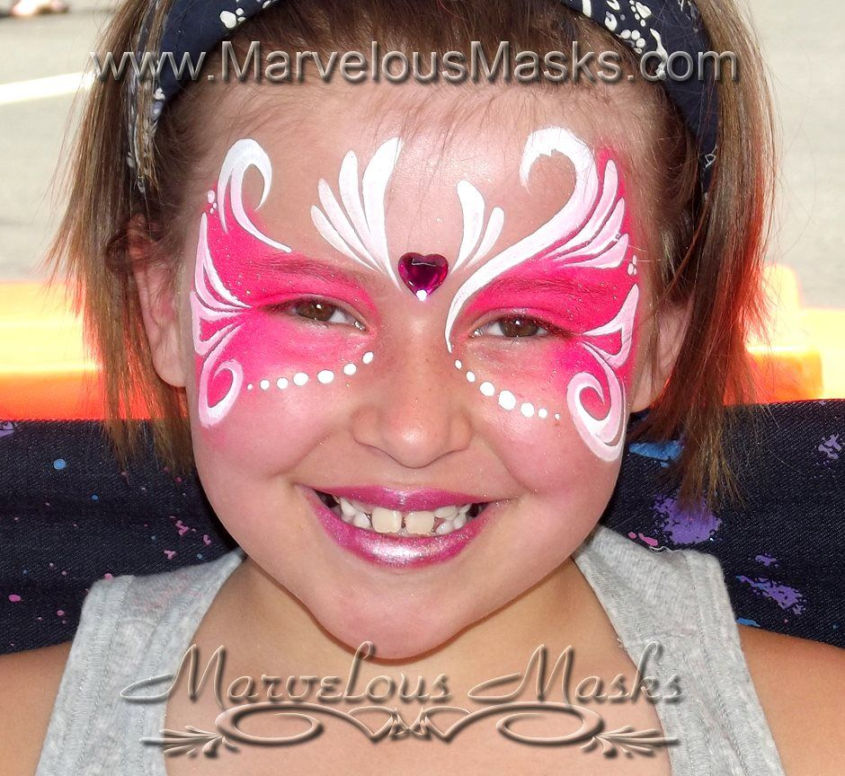 Maquillage pour enfant princesse maquillage enfant pinterest face paintings - Maquillage simple enfant ...