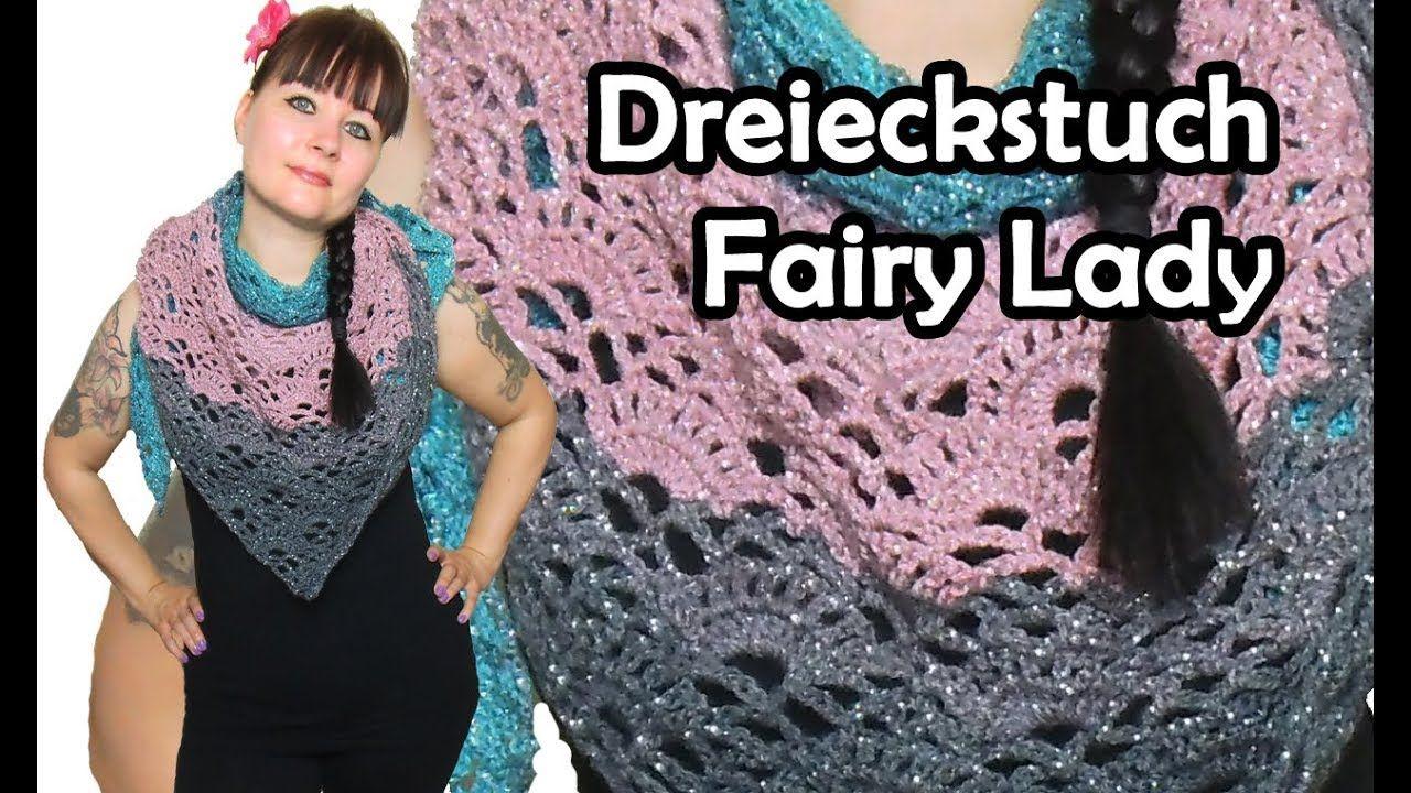 Dreieckstuch Fairy Lady Hakeln Bobbel Diy Hakelanleitung