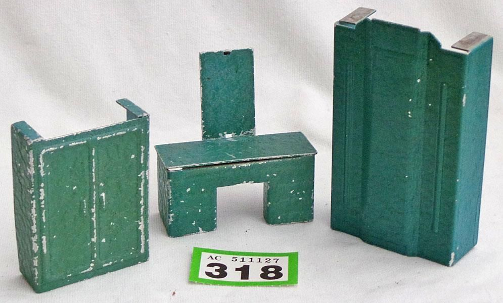 G318 Vintage Jacquelline Art Deco Dolls House Furniture, 3 Pieces | EBay