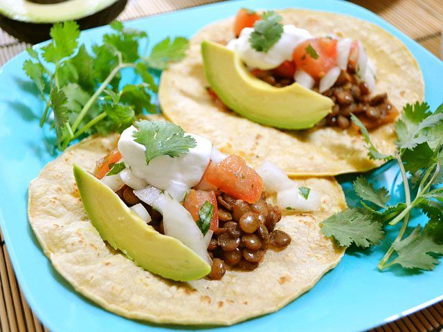 You'll never know the meat is missing in these incredibly flavorful and filling lentil tacos! Step by step photos.