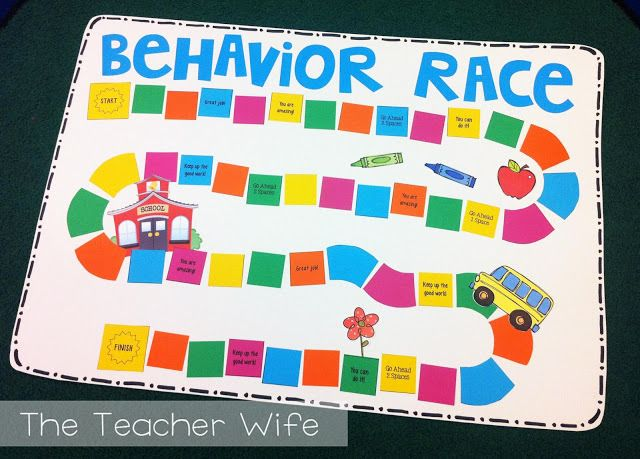Classroom Game Ideas : Racing for good behavior how to make your own