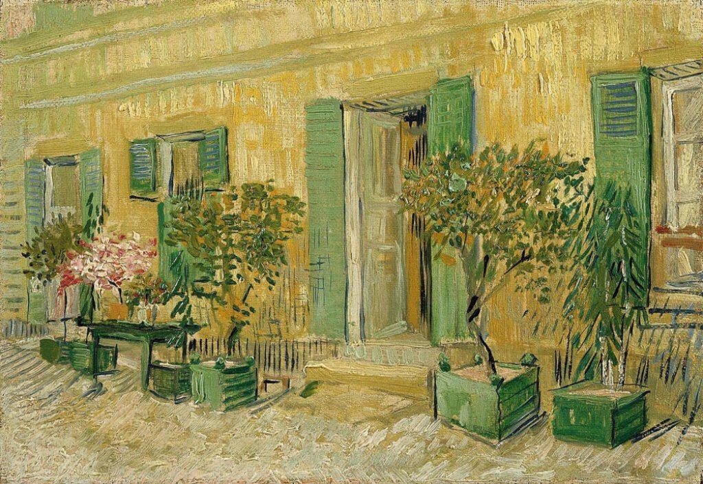 Vincent van Gogh: Restaurant at Asnières, 1887. Oil on canvas, 18.5 x 27 cm. Van Gogh Museum, Amsterdam