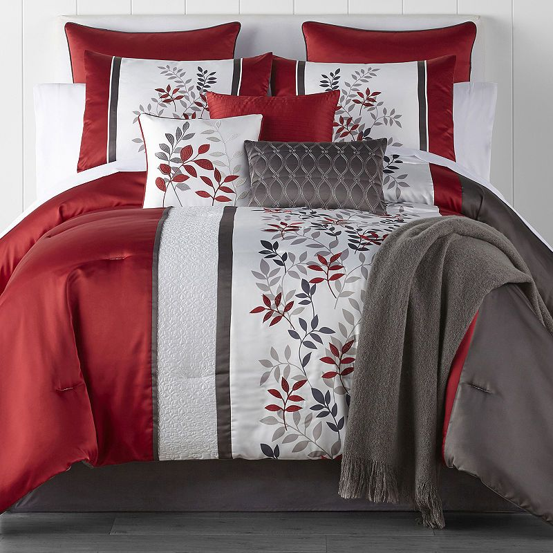 Jcpenney Home Aliya 10 Pc Comforter Set Comforter Sets