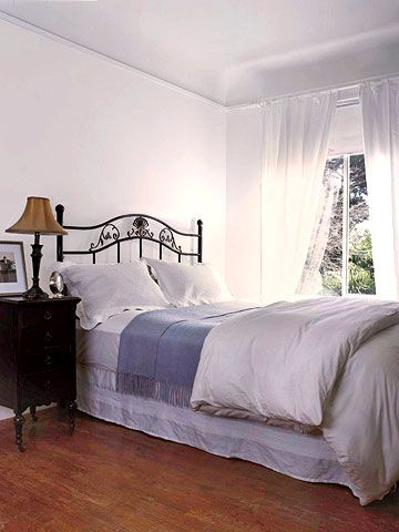 Iron Headboard Makeover With Images Headboard Makeover