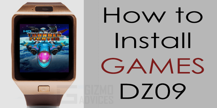 How to Install Games on DZ09 Smart Watch Phone | Android