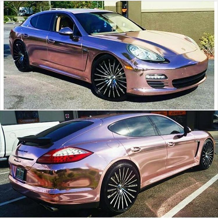 designerwraps with this Rose Gold wrap Promoting Wrappers