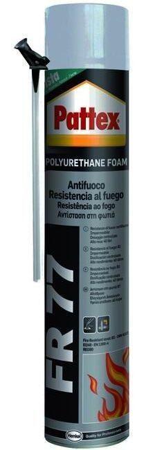 PATTEX SCHIUMA POLIURETANICA FR-77 RESISTENTE AL FUOCO ML. 750 http://www.decariashop.it/collanti/12860-pattex-schiuma-poliuretanica-fr-77-resistente-al-fuoco-ml-750.html