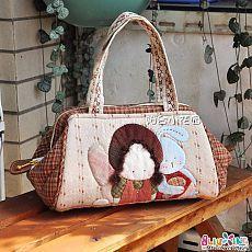 c5fdf177f16f Как сшить сумку - саквояж. Фото мастер-класс | Hand made | Quilted ...