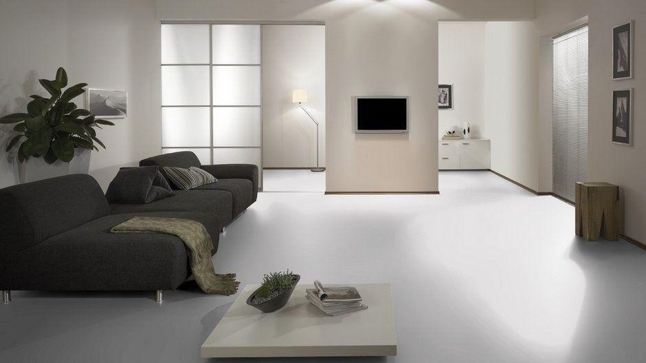 Hochglanz Laminat weiß / white ohne Fuge bei Laminatscoutde inkl