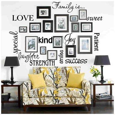 """Family """"tree"""" wall"""
