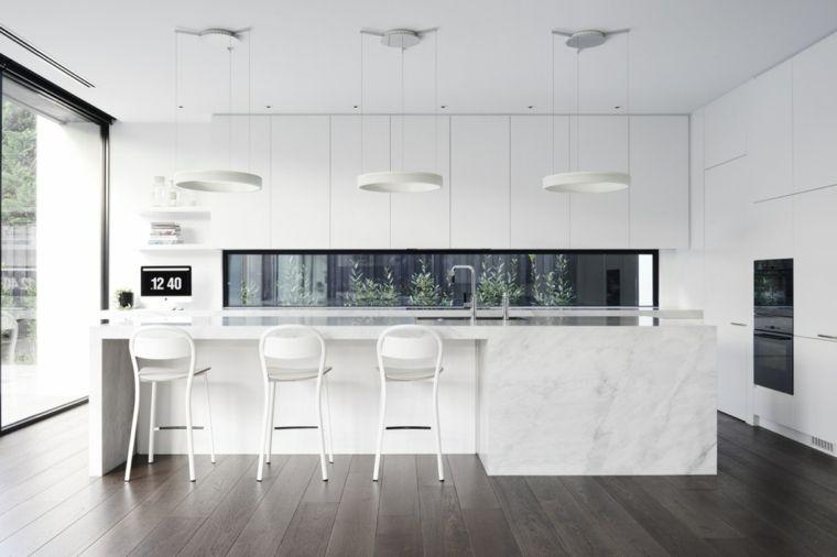 Cocinas blancas diseño y soluciones para un ambiente atemporal ...