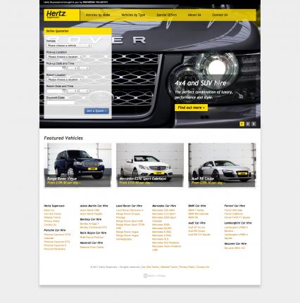 Hertz Supercars Made By Bridge Digital Agencies Super Cars Media Center