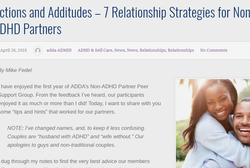 Pin on Couples and ADHD
