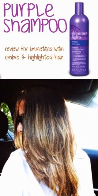 Purple Shampoo Works Wonders For Ombre Hair. Always See Tons Of Reviews For  Blondes Who