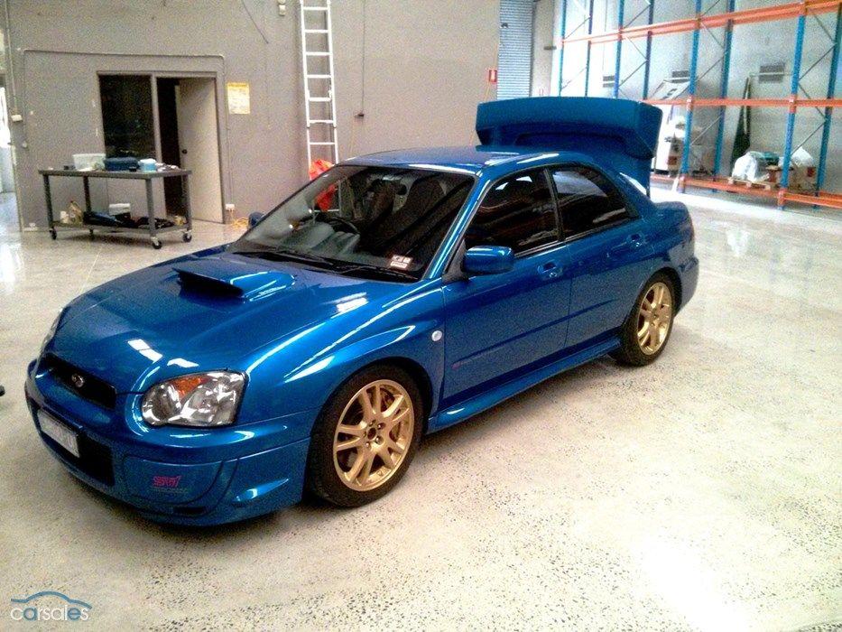 2003 Subaru Impreza S WRX STi MY03 All Wheel Drive (With