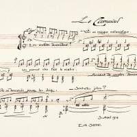 Erik Satie (composition) 'Sports et Divertissements: Le Carnaval' (1914-1923) | PARIS : EDITIONS LUCIEN VOGEL, FONDS ERIK SATIE — ARCHIVES DE FRANCE / ARCHIVES IMEC