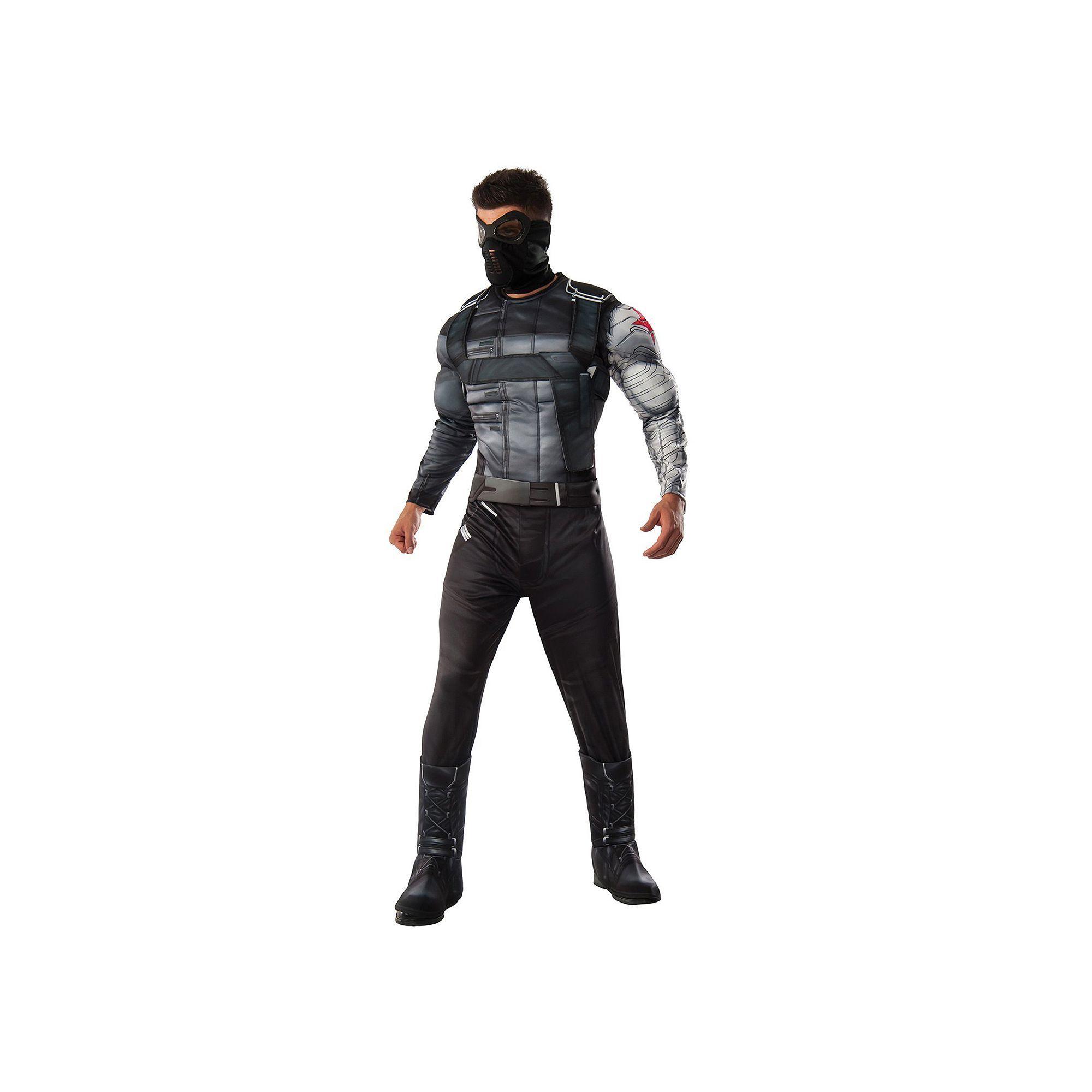 d3f47bec9fe Adult Marvel Captain America  Civil War Winter Soldier Deluxe Costume