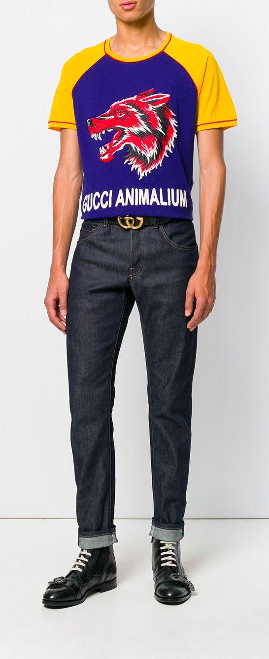 544653a324e GUCCI Animalium T-shirt